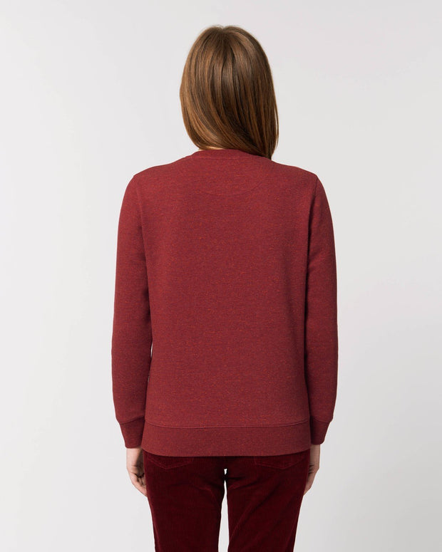 Clean & Chic - Iconic Rundhals-Sweatshirt in Tulipe Noire - Juniper & Moon