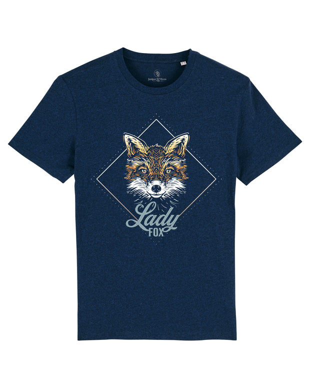 LADY FOX - Premium Shirt aus Bio-Baumwolle - Juniper & Moon