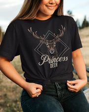 PRINCESS DEER - Premium Shirt aus Bio-Baumwolle - Juniper & Moon