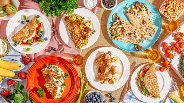 Large variety of crepes
