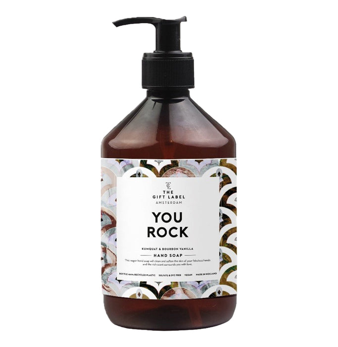 The Gift Label Vegan Hand Wash (Various Messages)