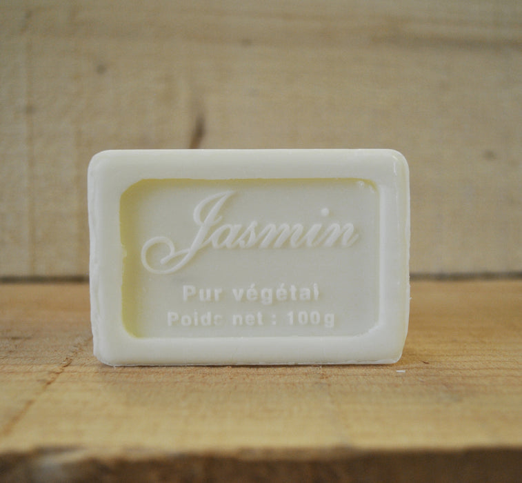 Jasmine Wrapped Soap 100g