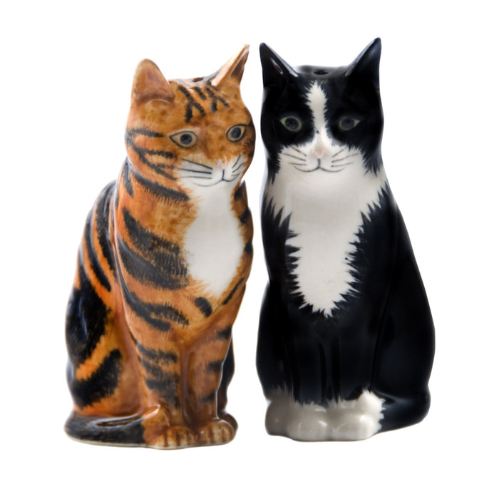 Reuben & Sparky Cat Salt and Pepper Set