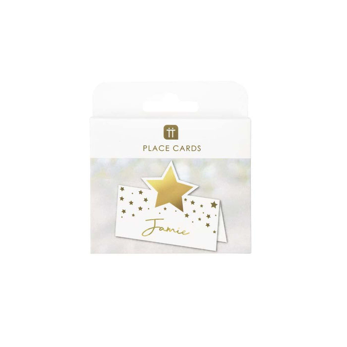 Star Gold Place Cards
