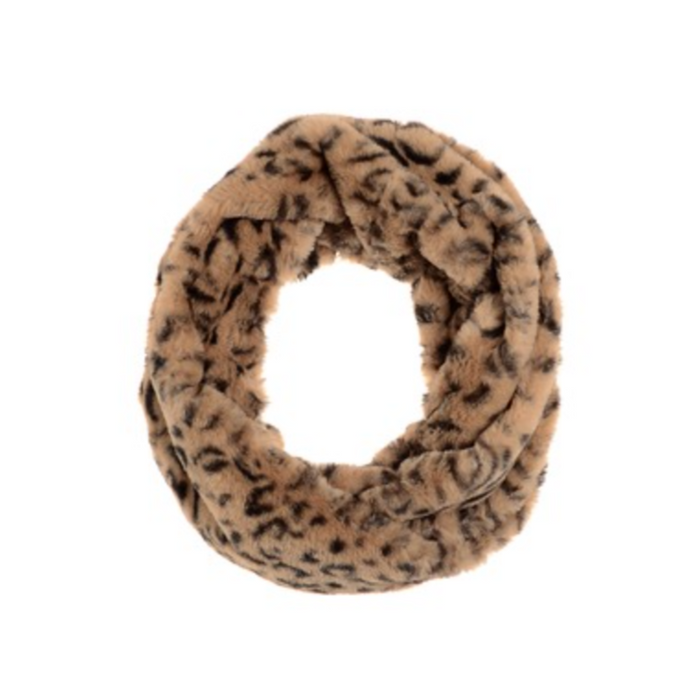 Snood - Animal Magic - Black / Tan