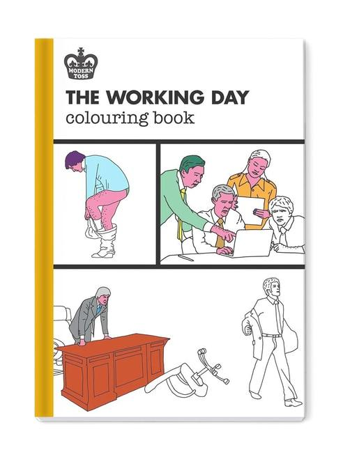 'The Working Day' Colouring Book