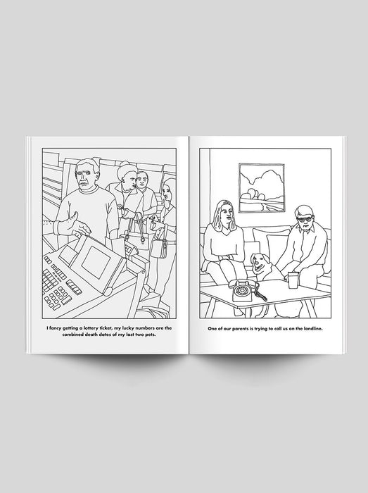 'The Weekend' Colouring Book