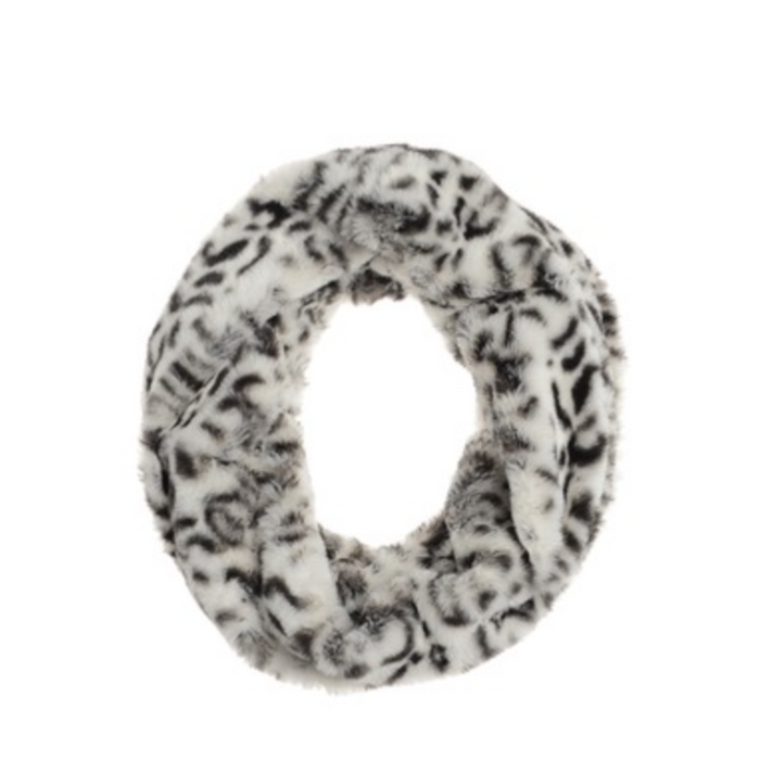 Snood - Animal Magic - Grey / White