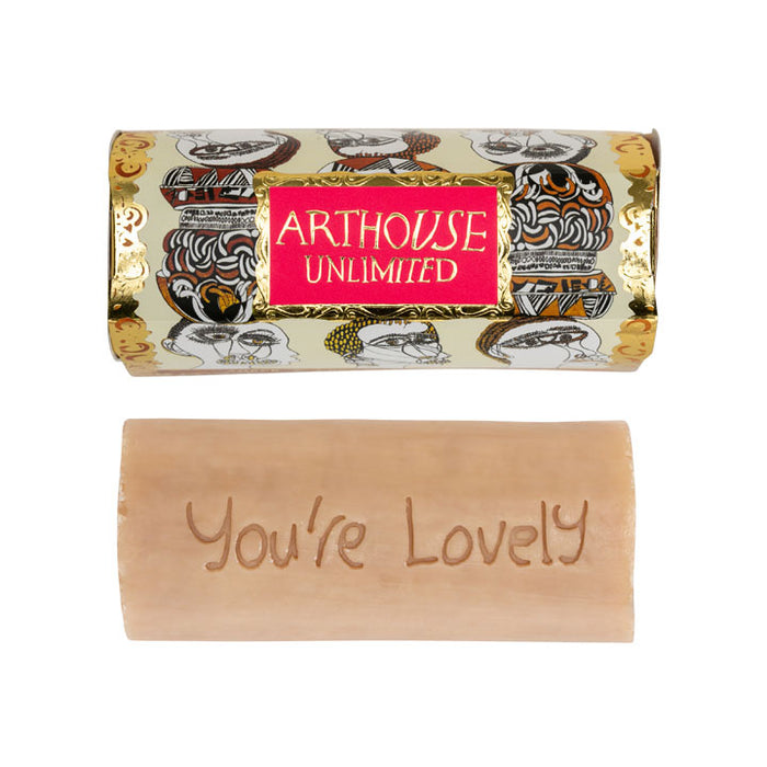 Arthouse Unlimited Organic Tubular Figureheads Soap