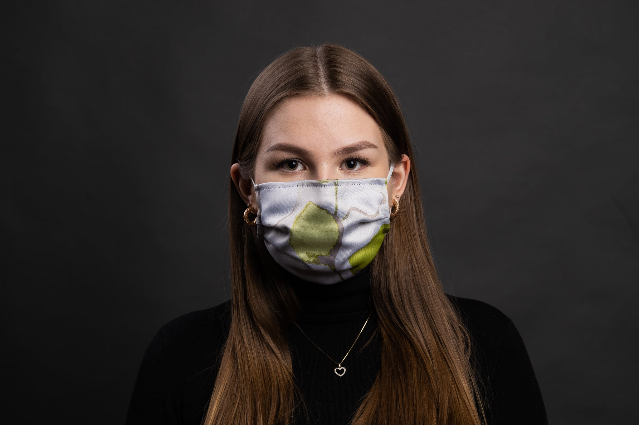 Loffen Shield Antimicrobial Face mask -Nature