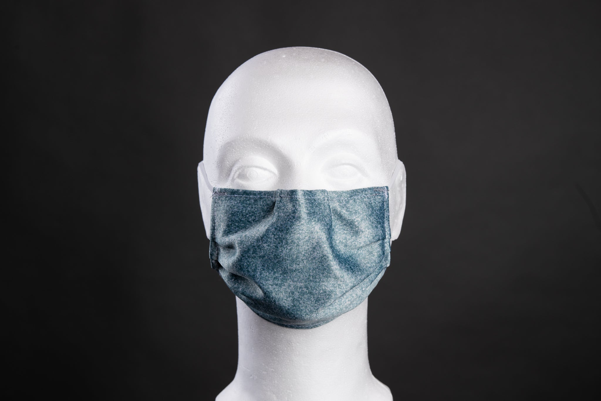 Loffen Shield Antimicrobial Face mask -Green