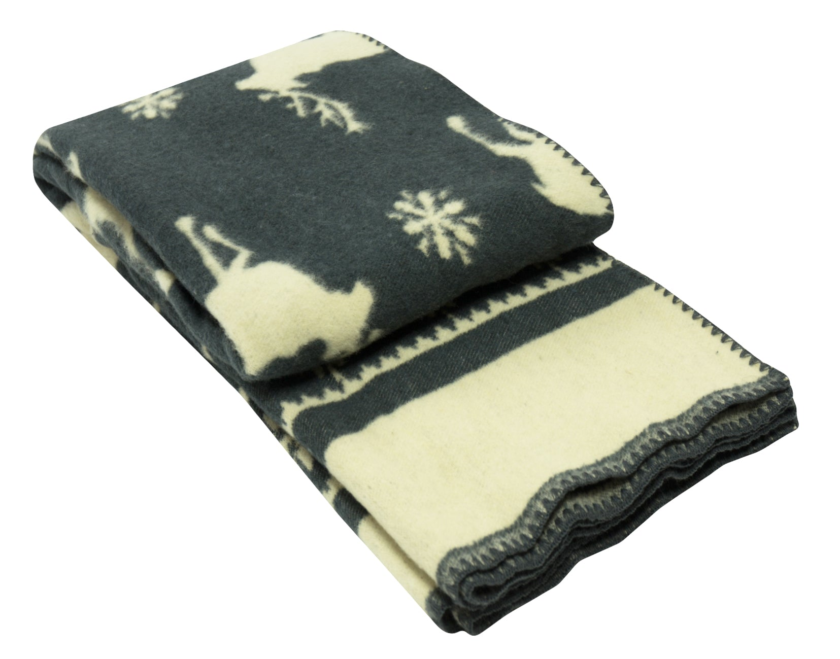 MERINO Blanket Dark Grey