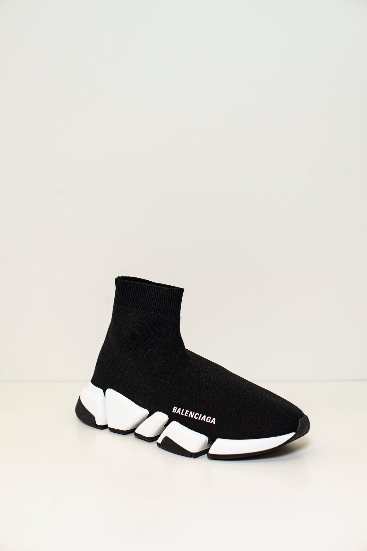 BALENCIAGA - SPEED 2.0 LT BICOLOR W | Black/White/Black
