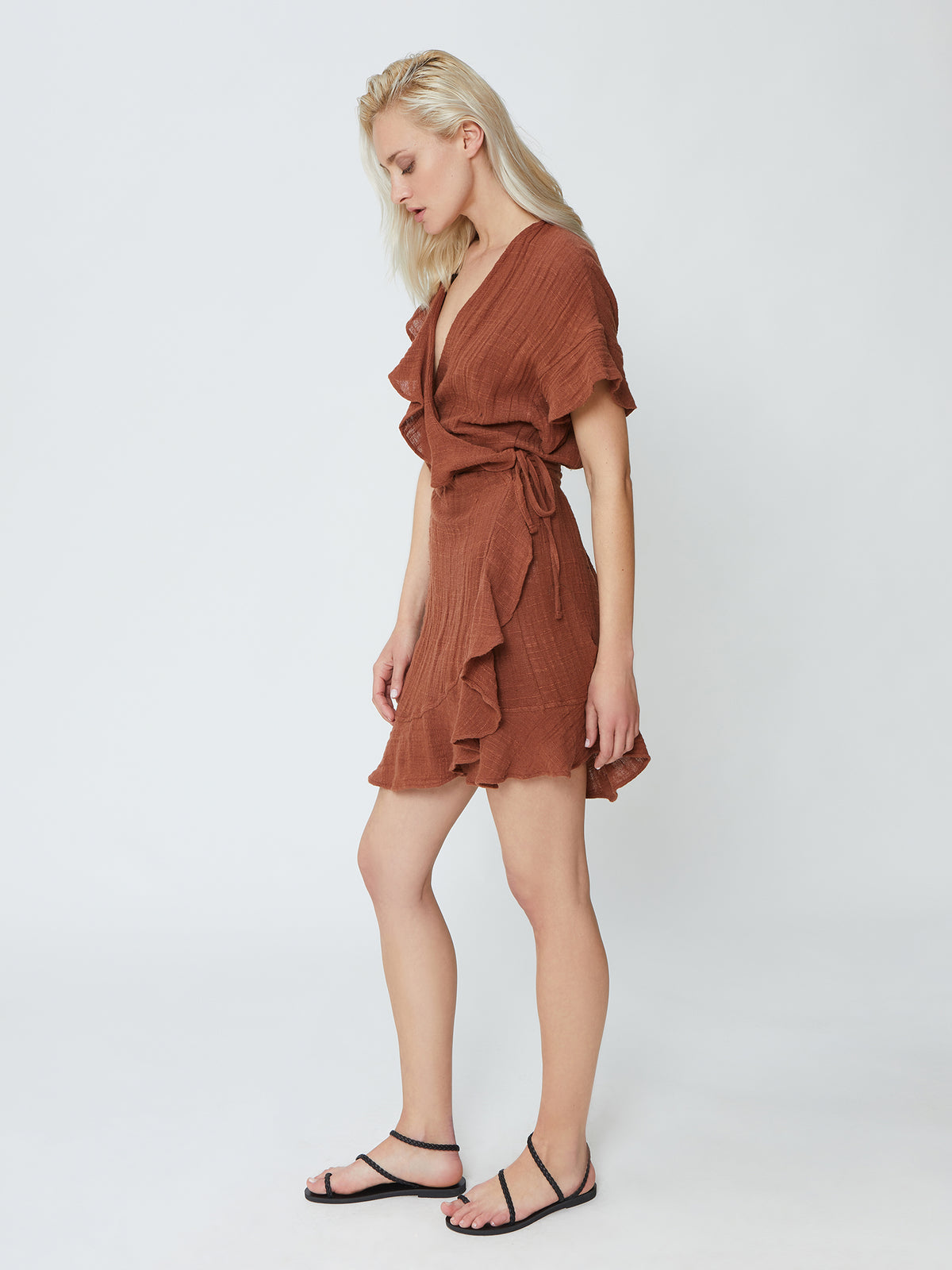 Isapera - Twist Dress - Sienna