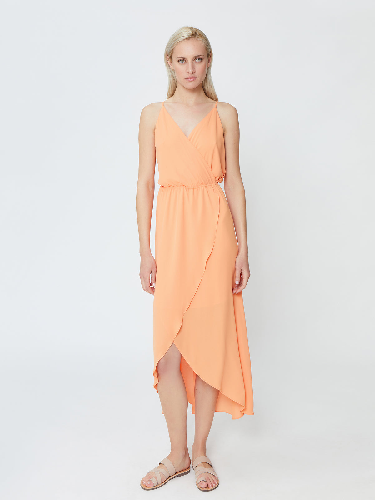 Orchid Dress - Peach