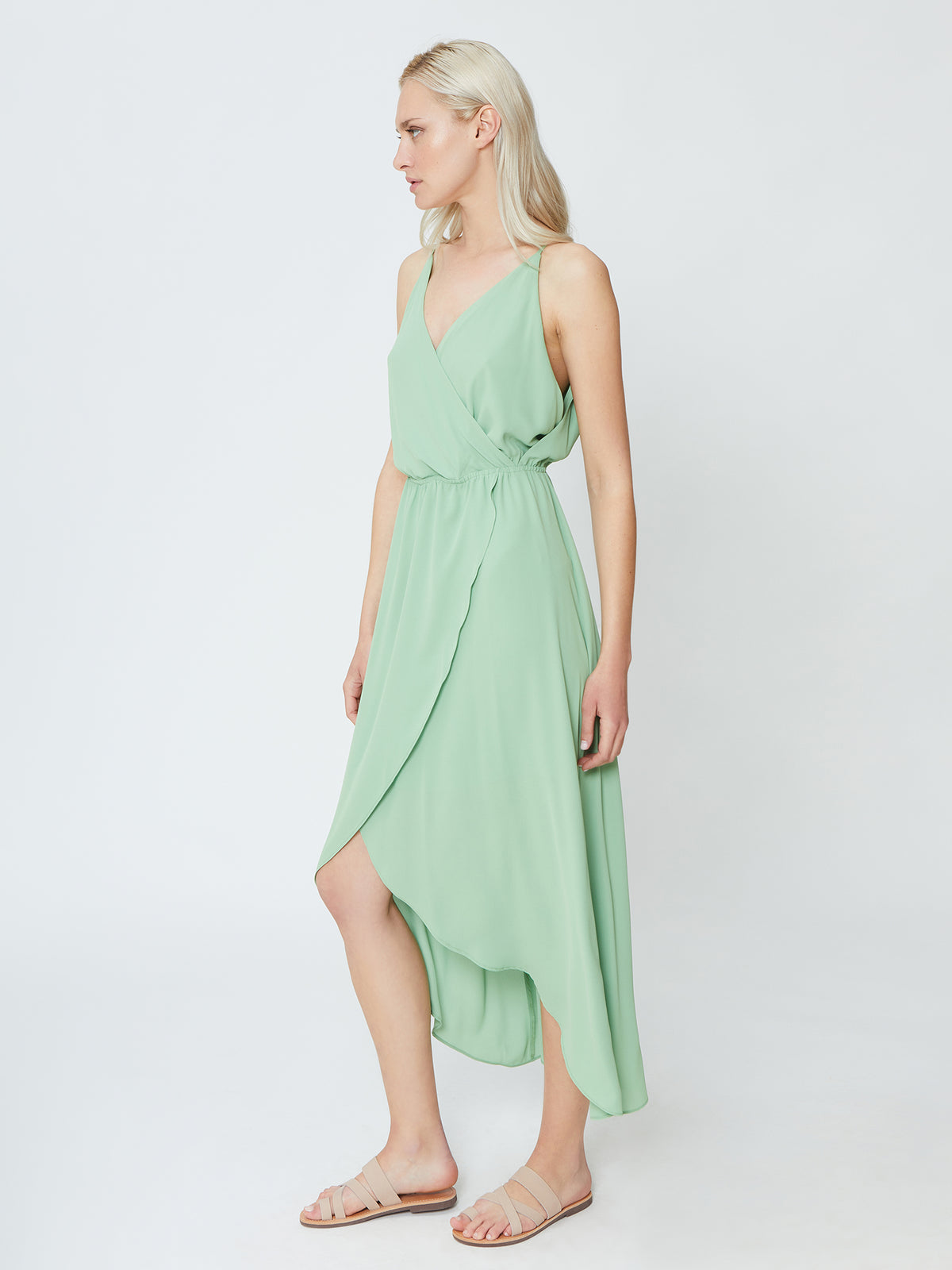 Orchid Dress - Green