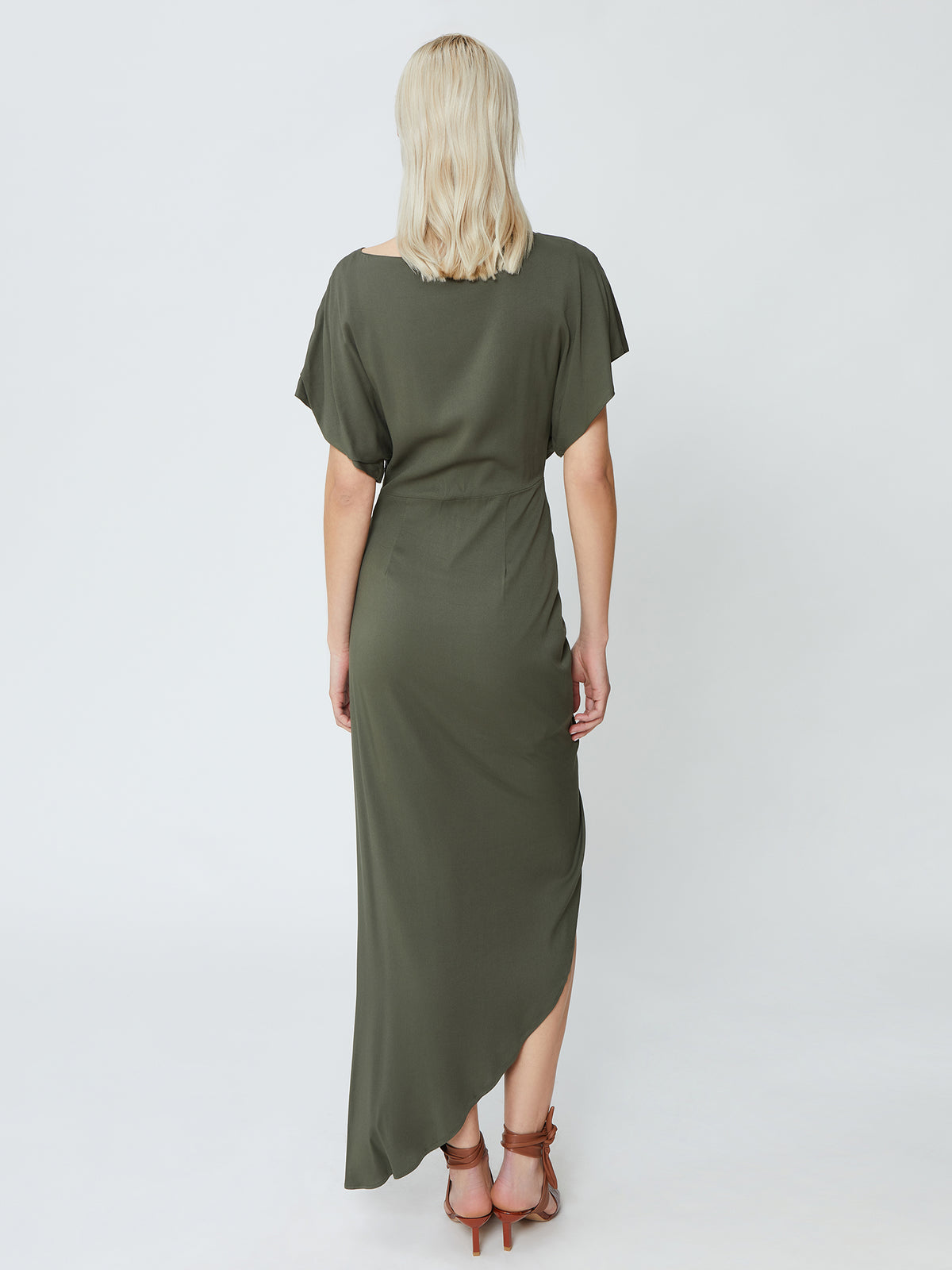 Power Dress - Khaki