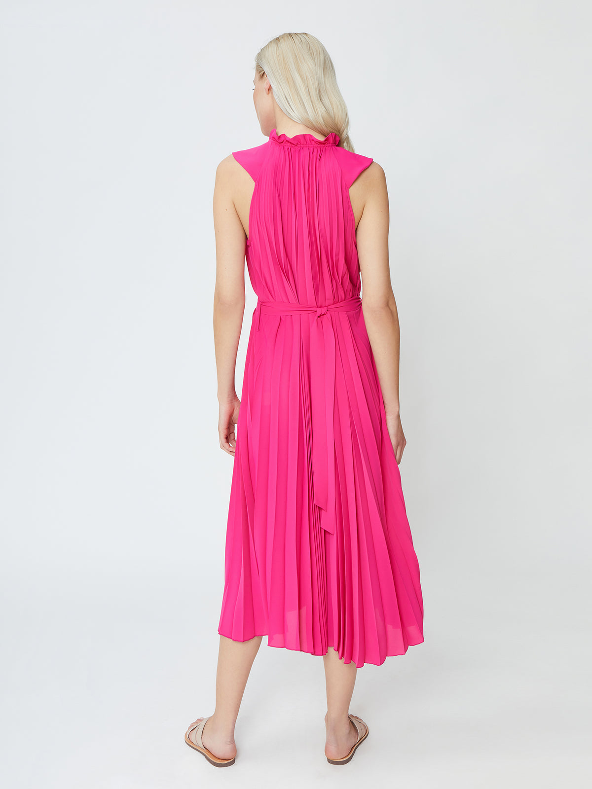 Ray Dress  - Fuchsia
