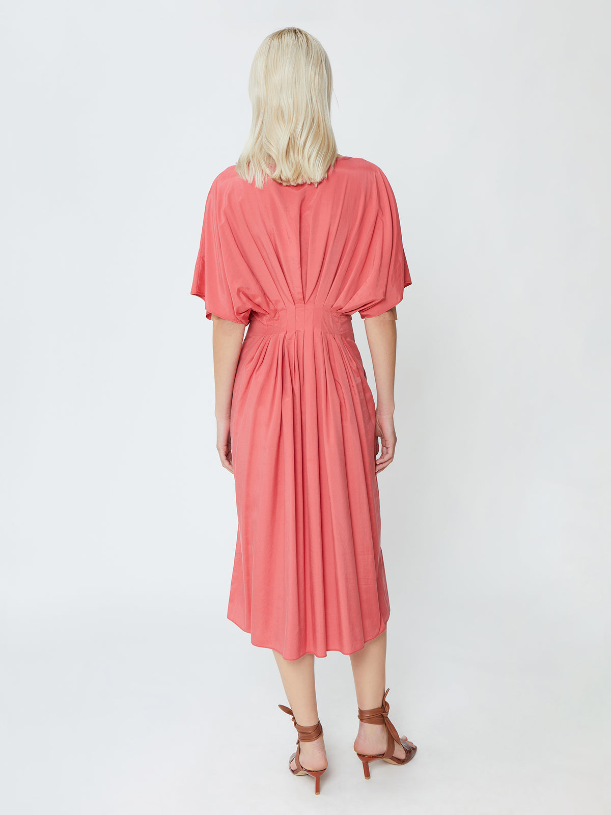 Sand Dune Dress - Coral