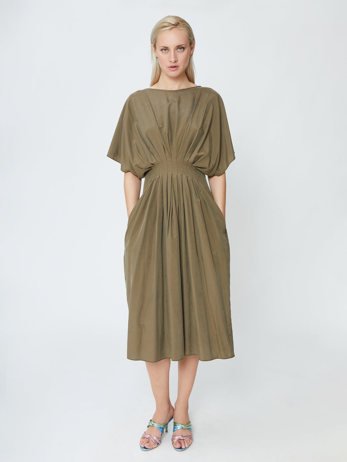Wildwood - Sand Dune Dress - Khaki