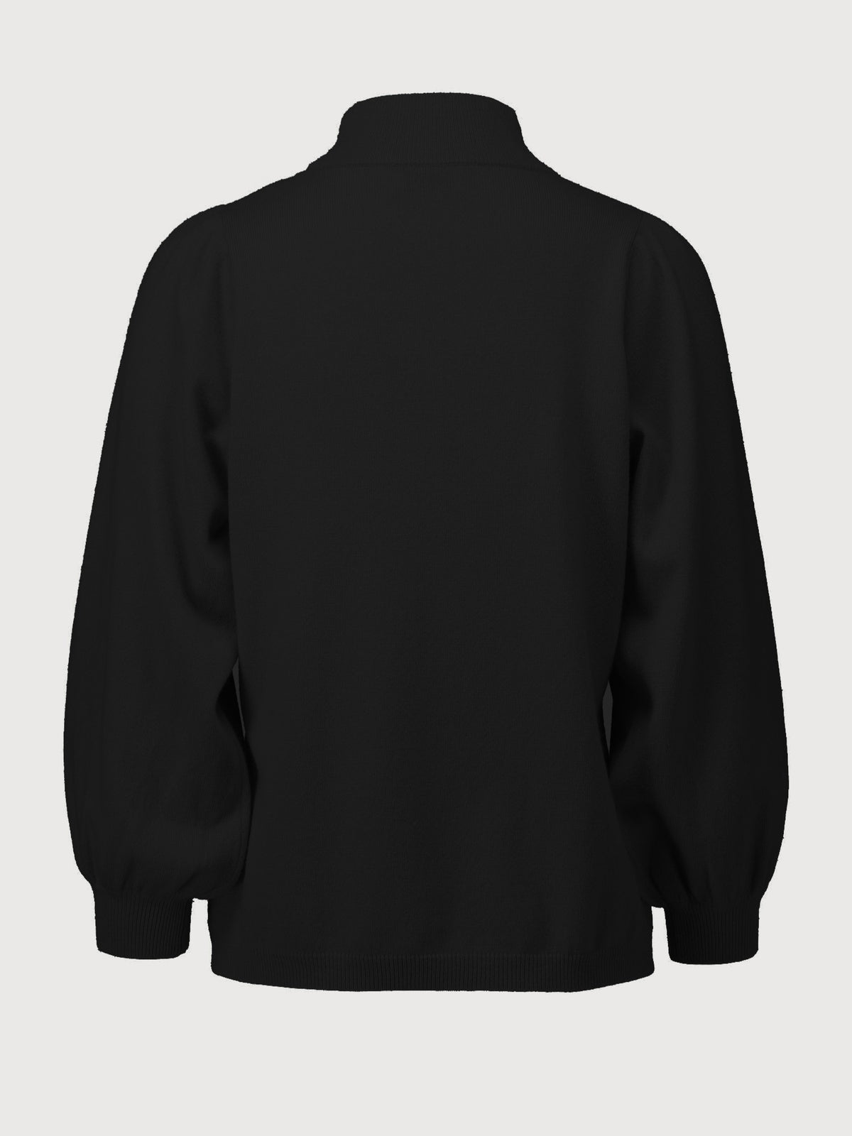 Allude - High neck Sweater | Black