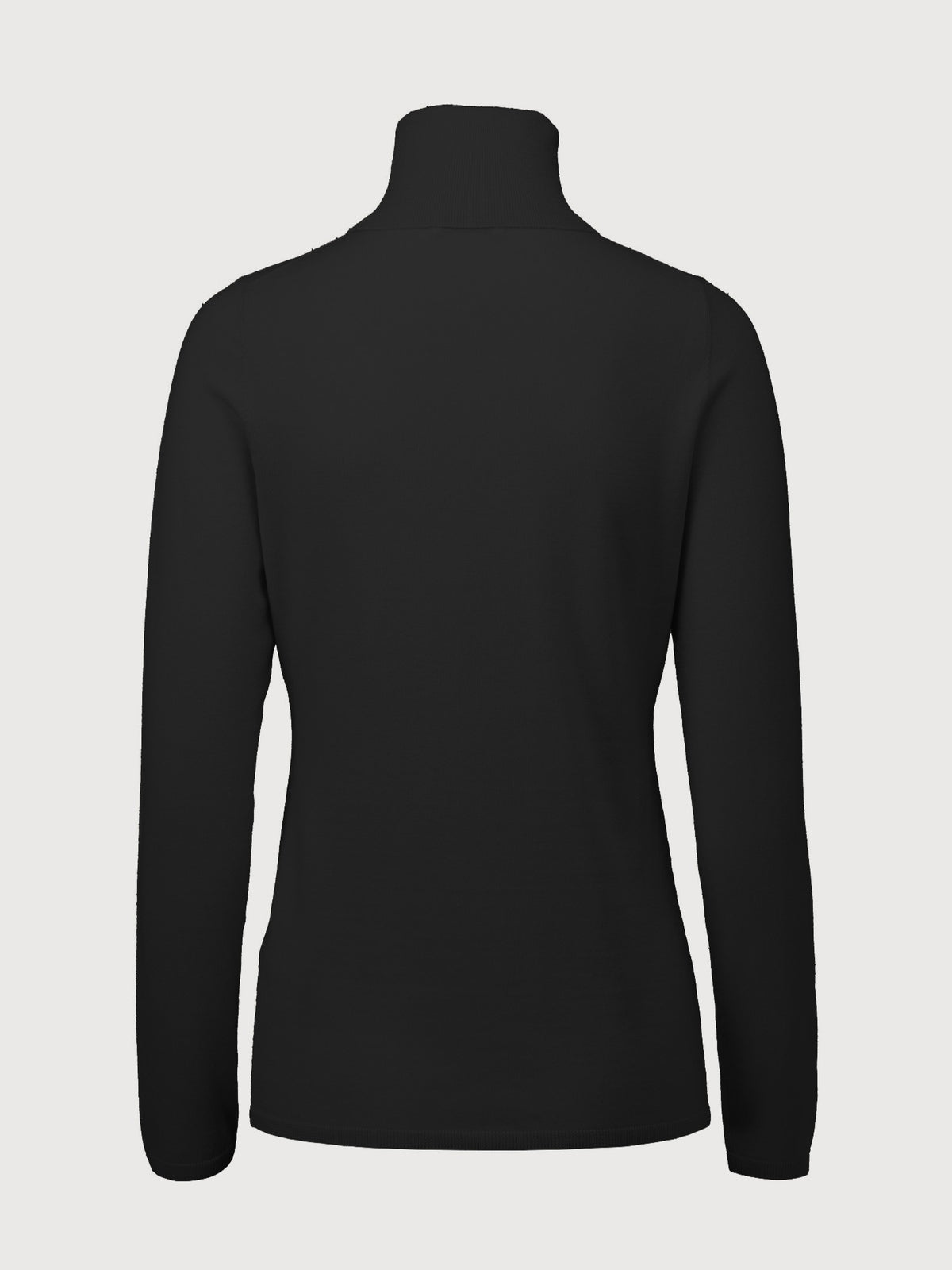 Turtleneck Sweater | Black