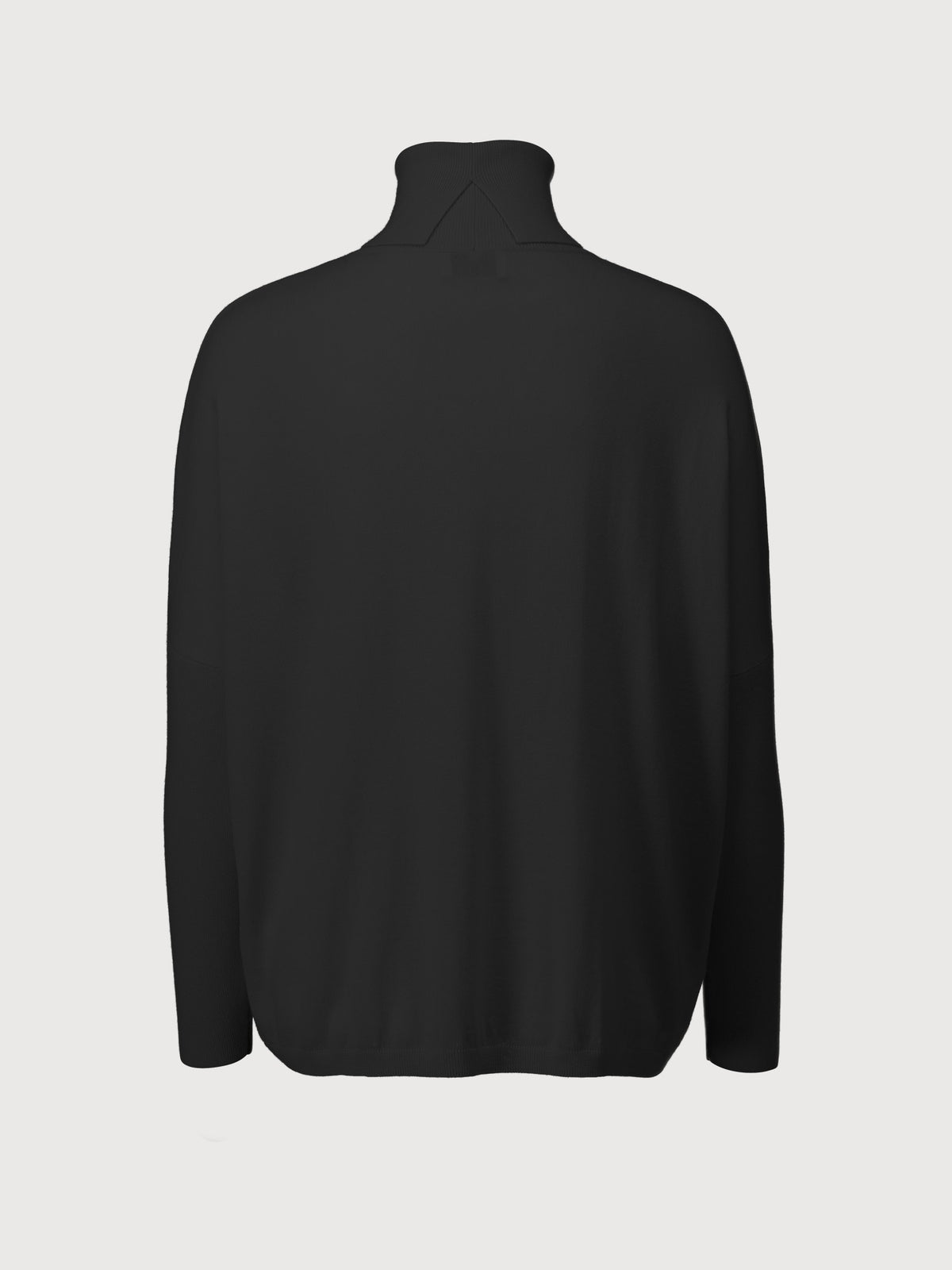 Allude - Roll neck Sweater | Black