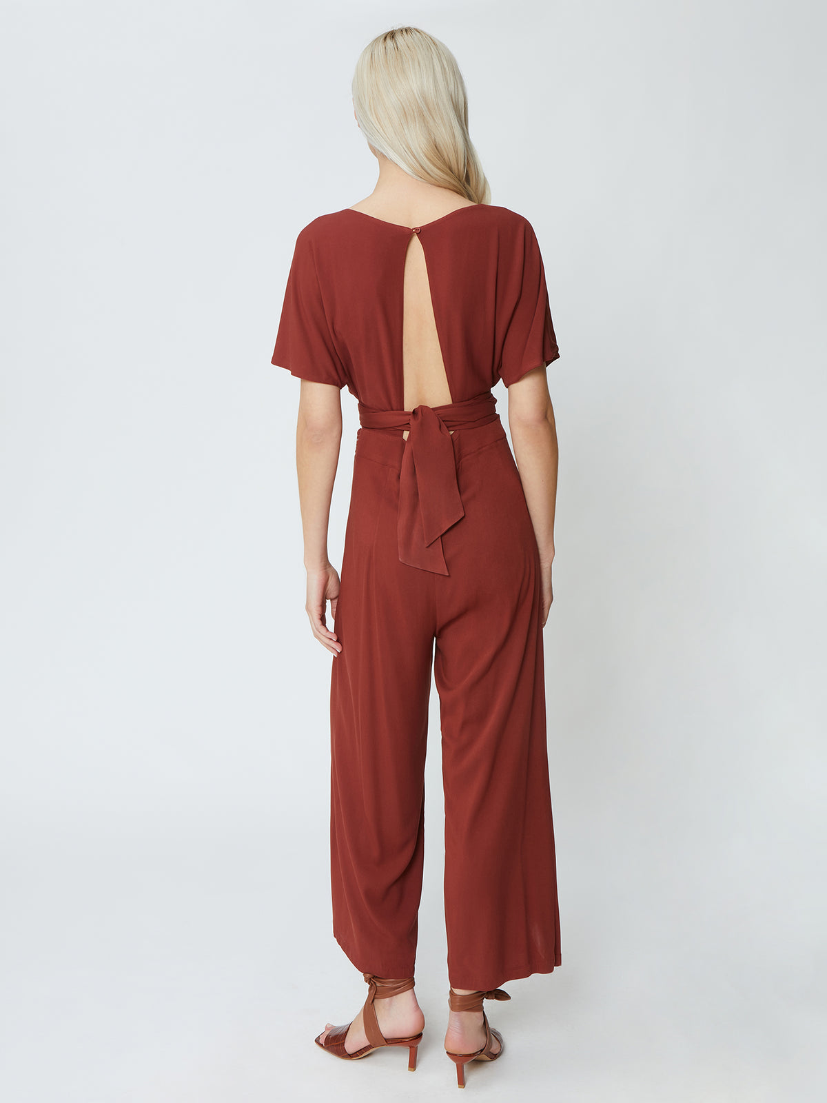 Peace Jumpsuit - Henna
