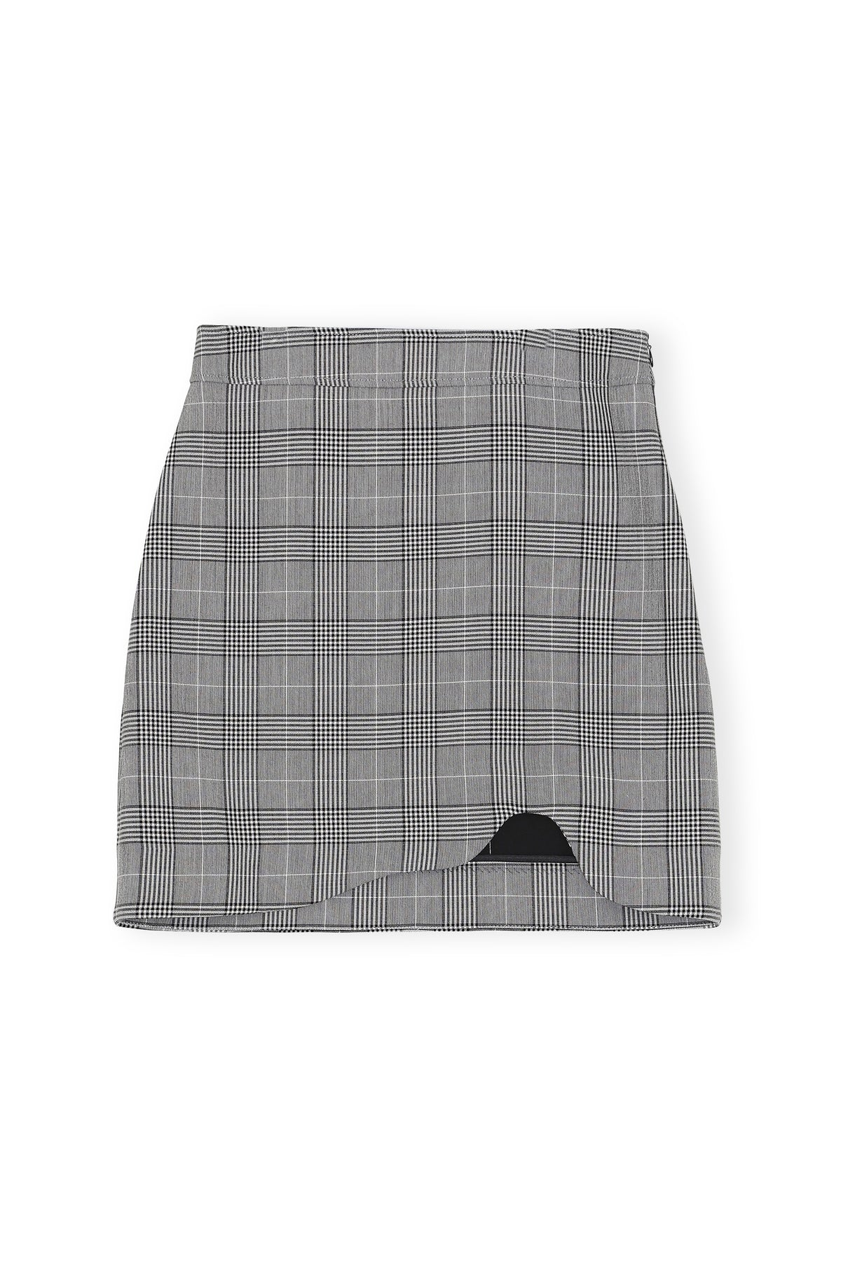 Suiting Mini Skirt - Phantom