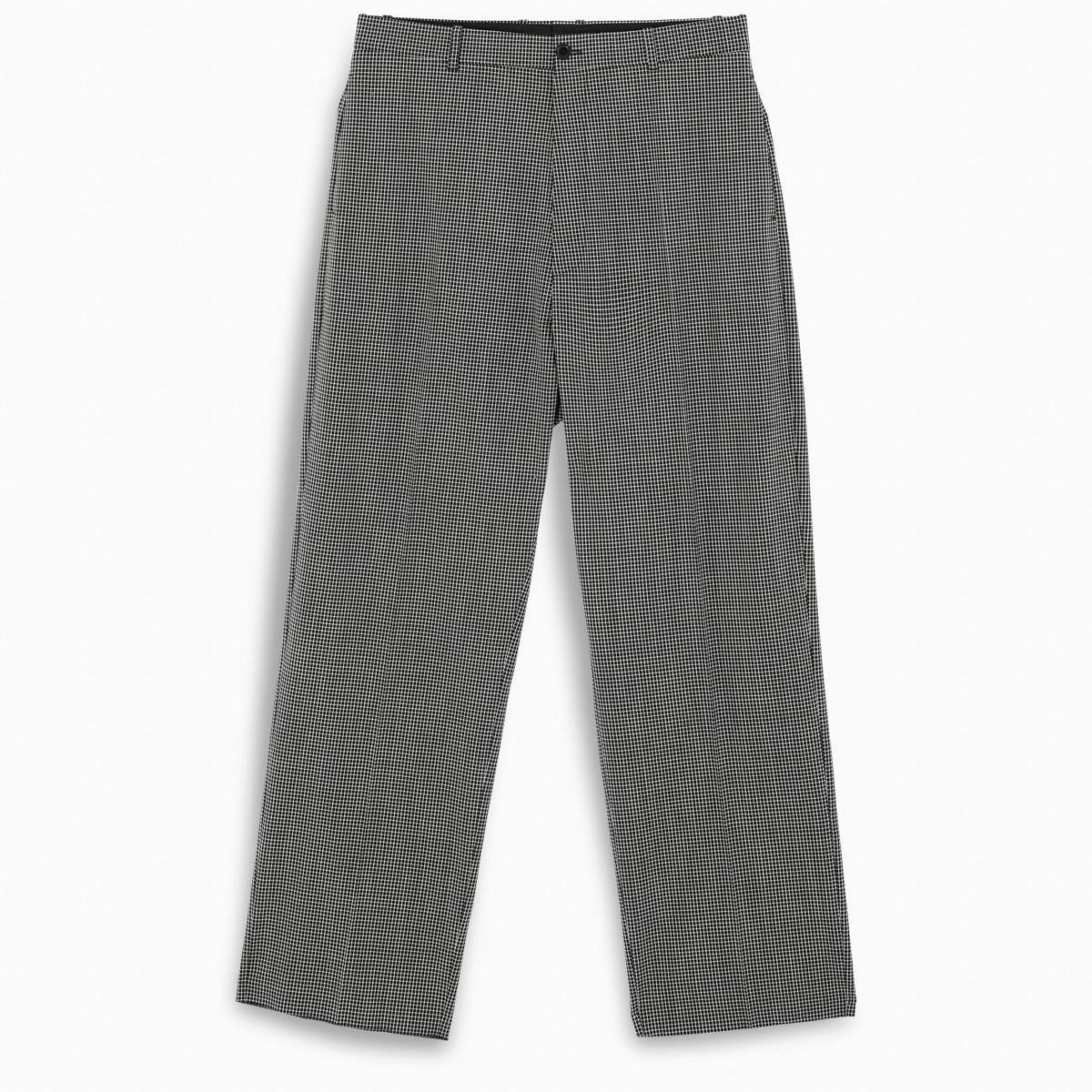 BALENCIAGA - Baggy Tailored Pants | Black/White