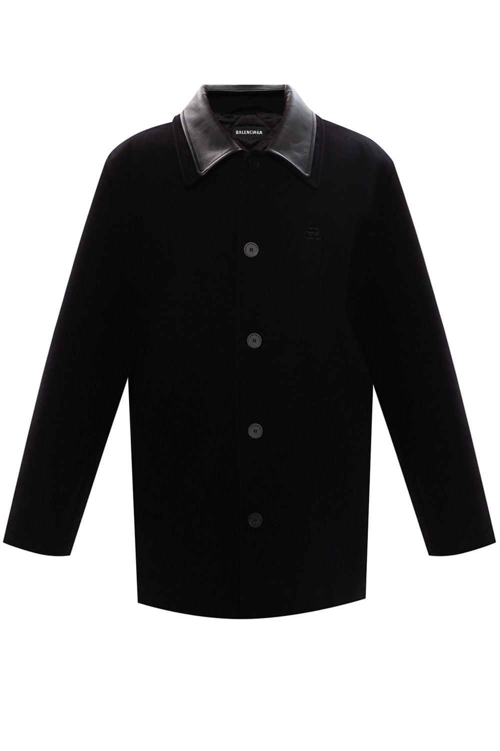 Double Collar Jacket | Black