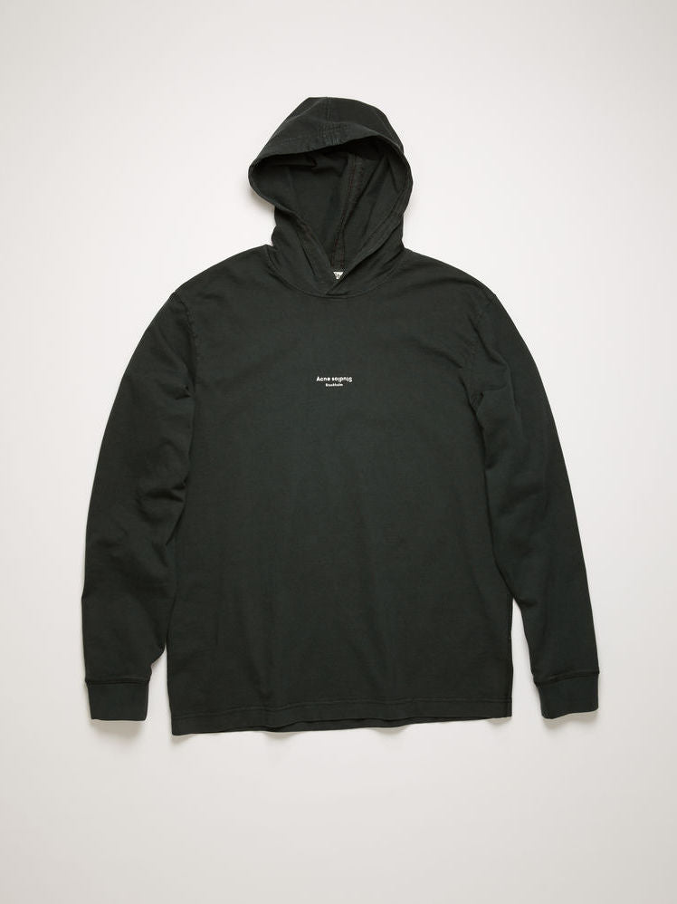 Erwin L Hooded Sweatshirt - Black