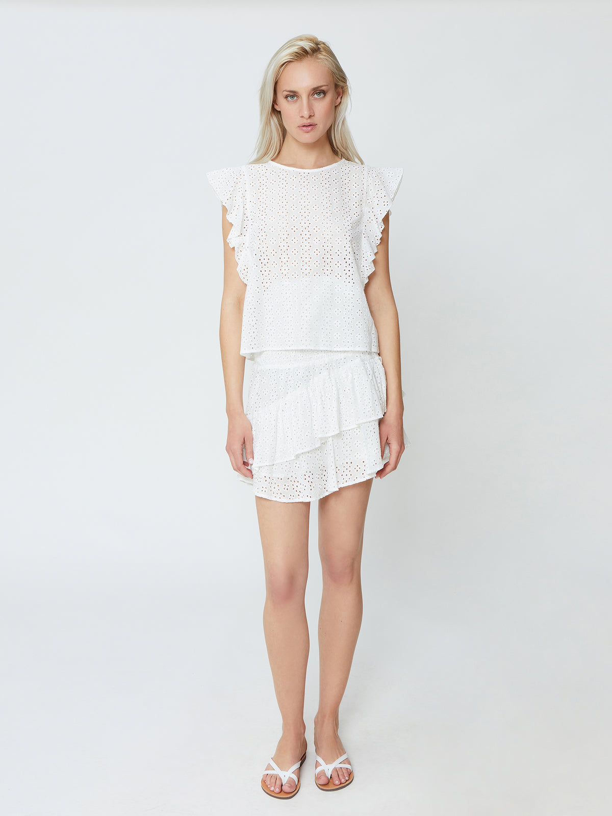 Cornwall Top - White