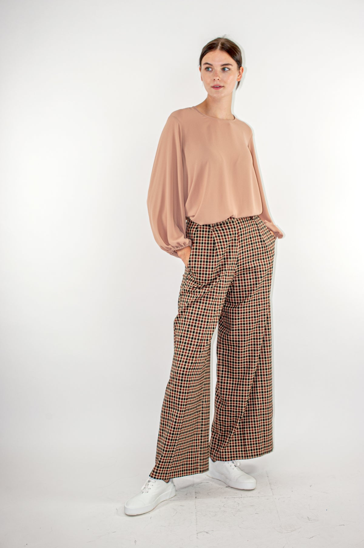 Wildwood - Charleston Pants | Chocolate Plaid