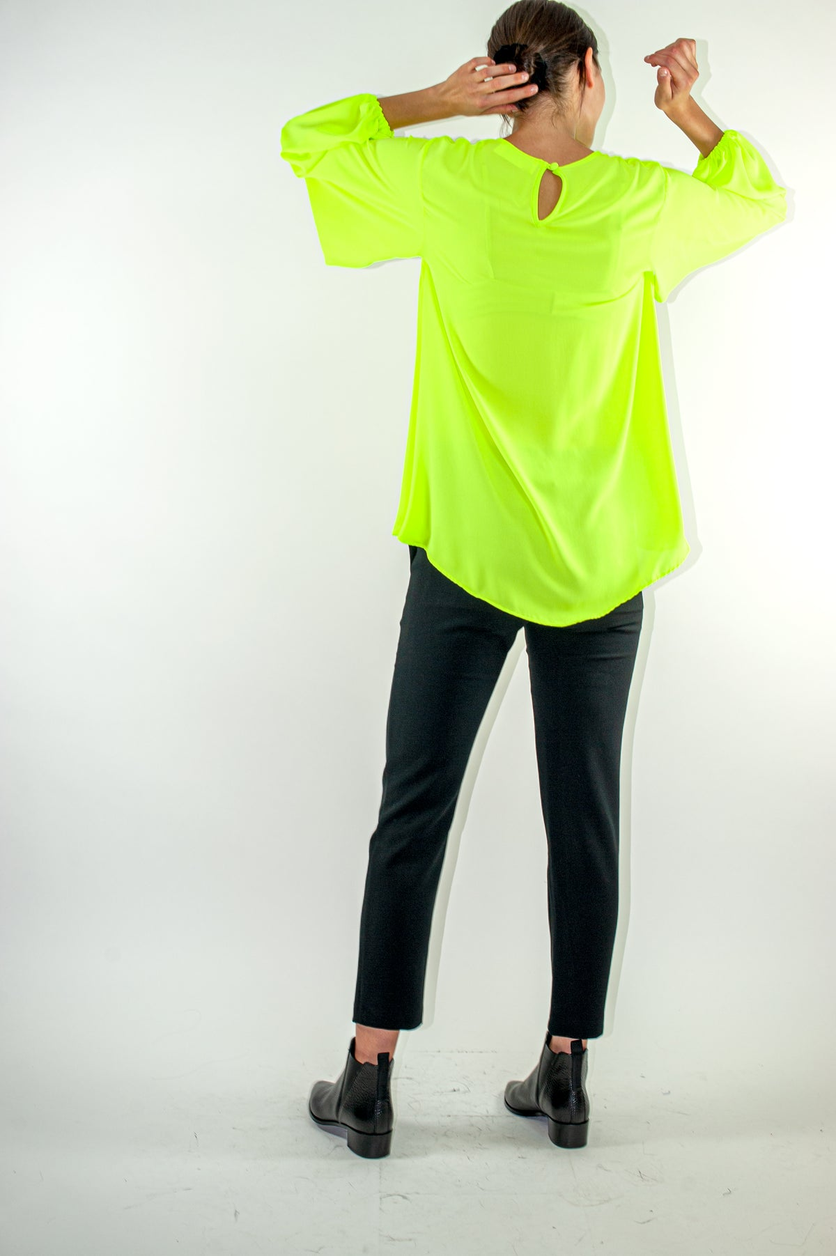 Bee Top | Neon Yellow