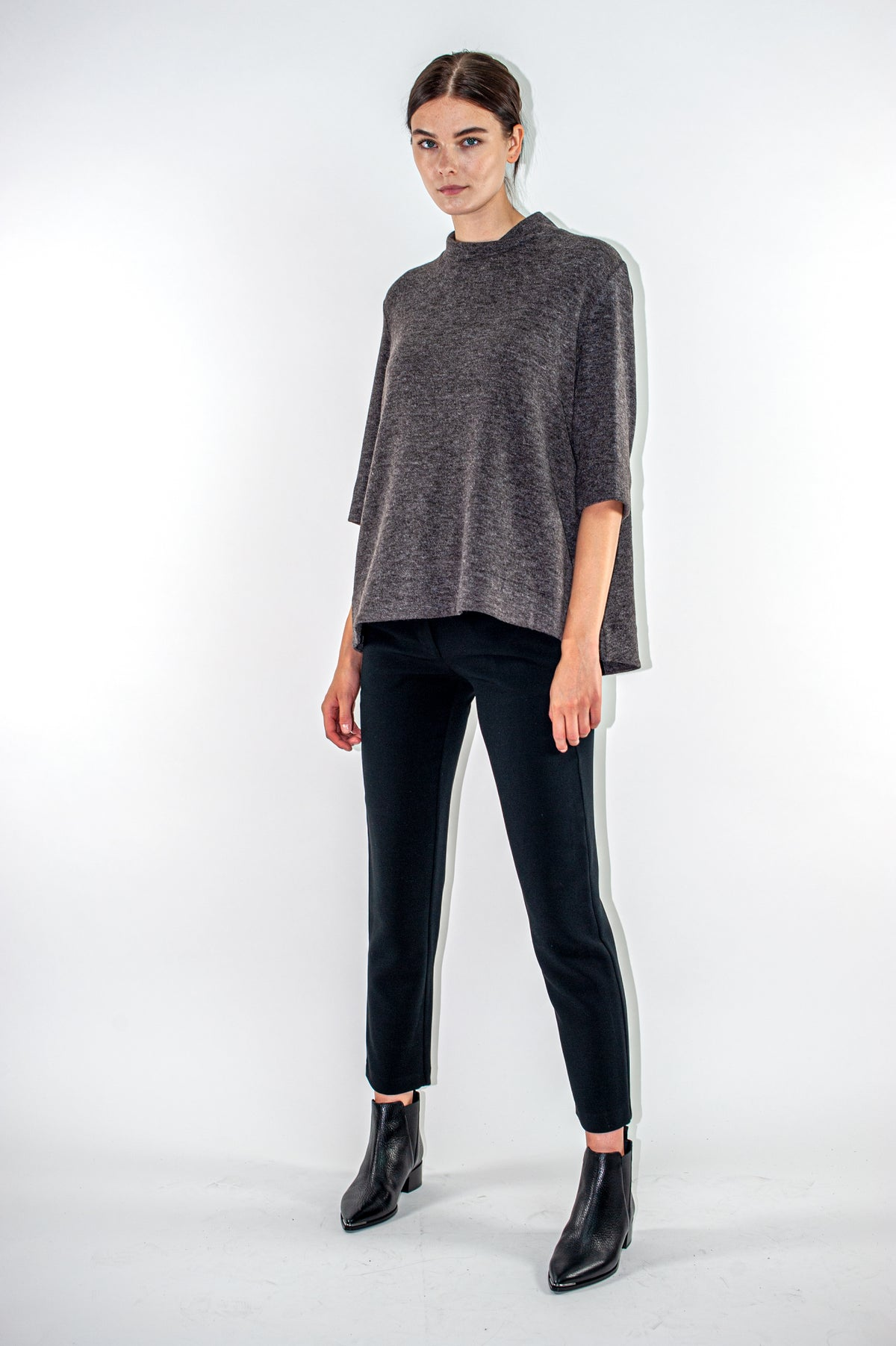 Apolinaire Top | Anthracite