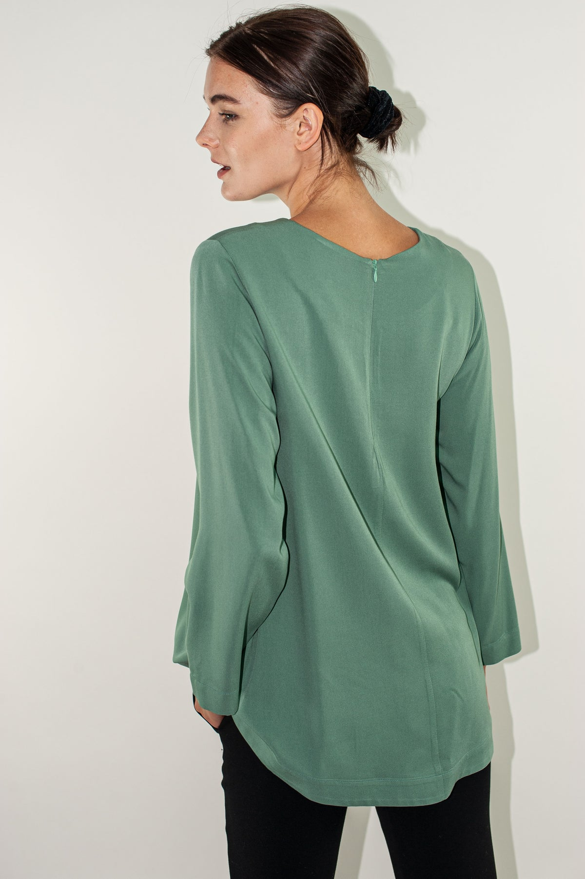 Wildwood - Arcade Top | Light Khaki