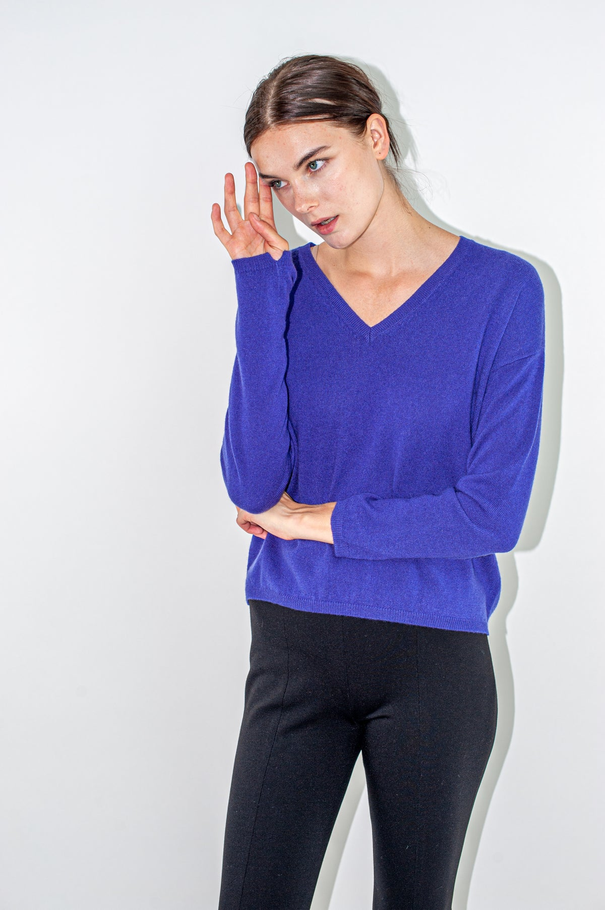 V-neck Sweater | Velvet