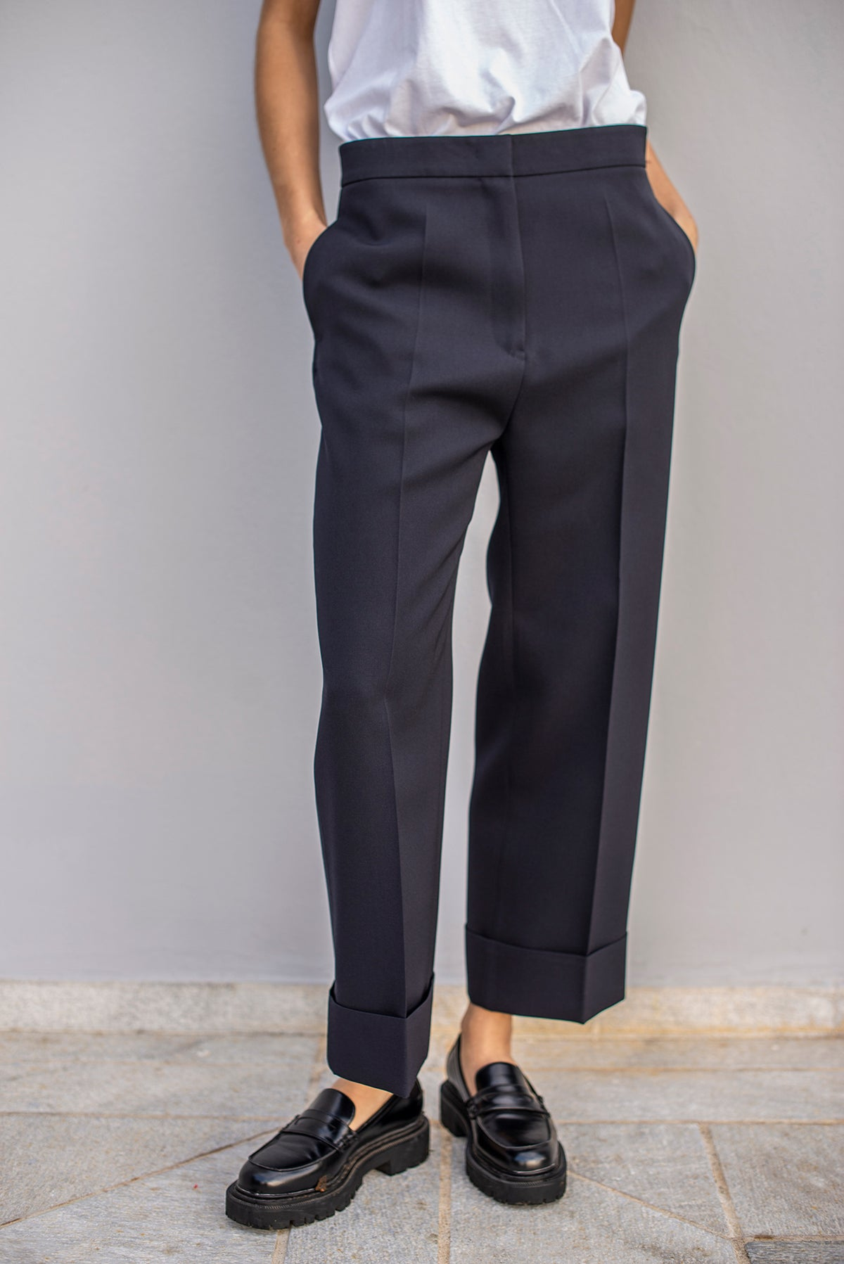Jil Sander - Essential Pant 1 | Dark Blue