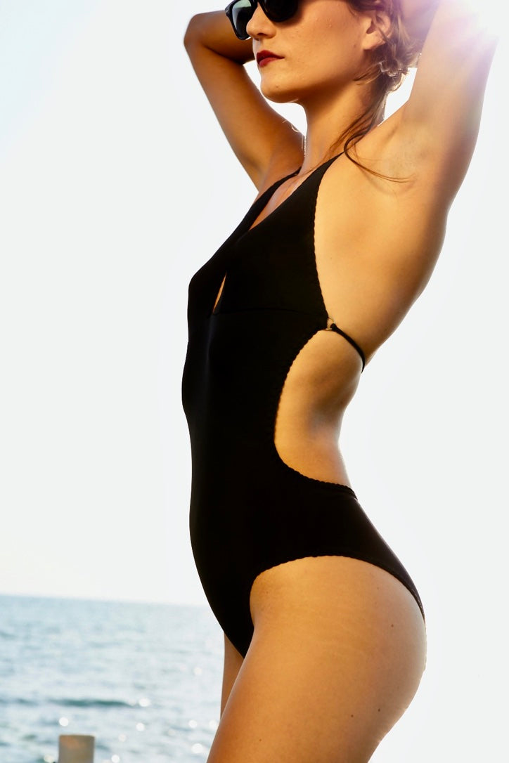 Laura Urbinati - Sienna One Piece Swimsuit | Black