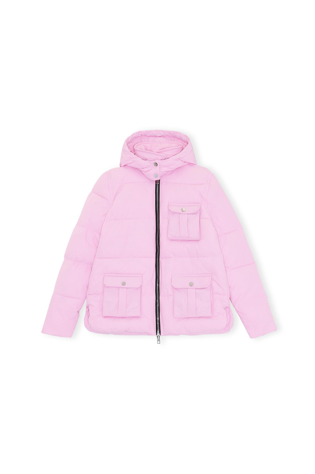 Ganni - Heavy Tech Puffer Jacket | Sweet Lilac