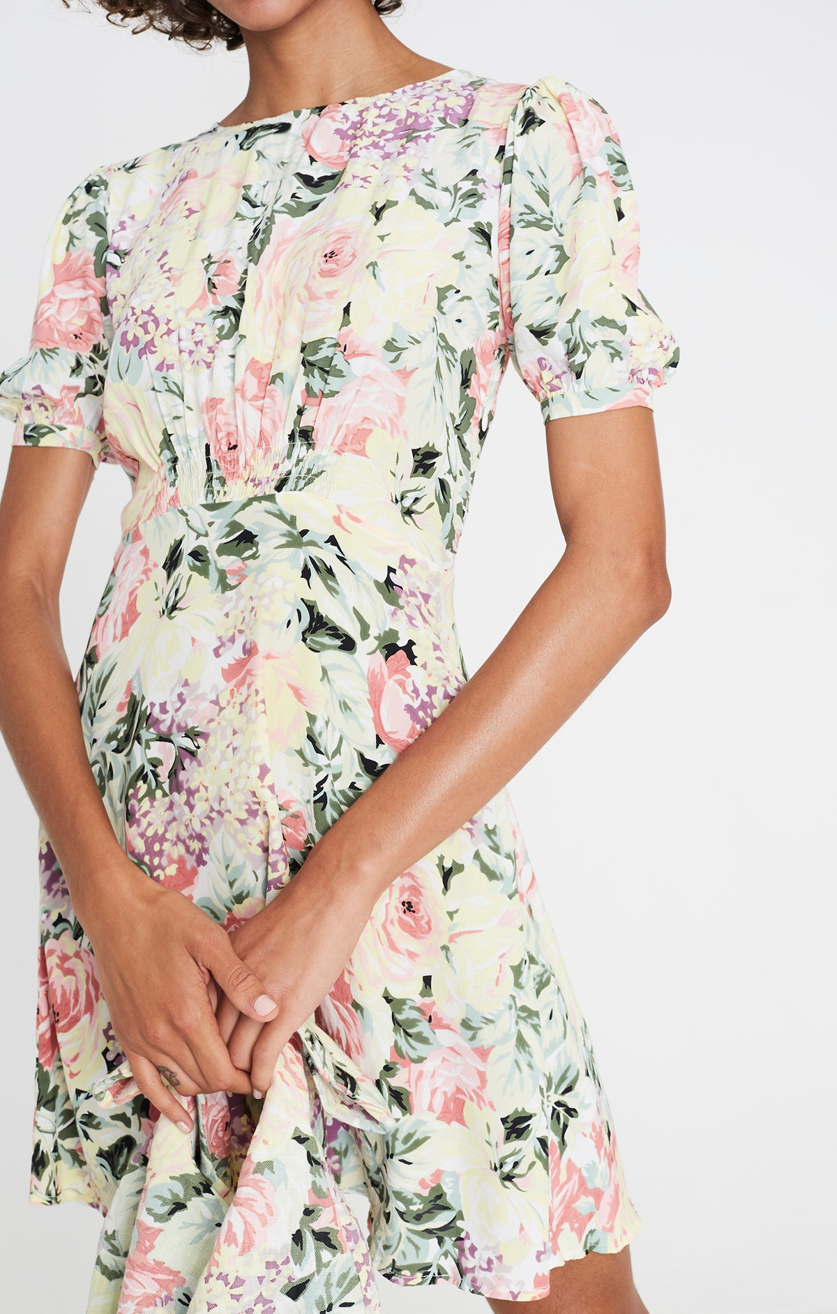 SIDONIE MINI DRESS - Venissa Floral
