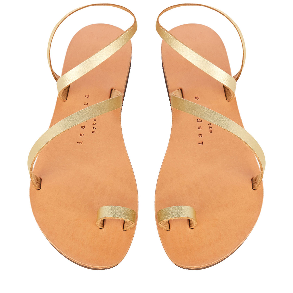 Isapera - Foam Sandals Sandals - Gold