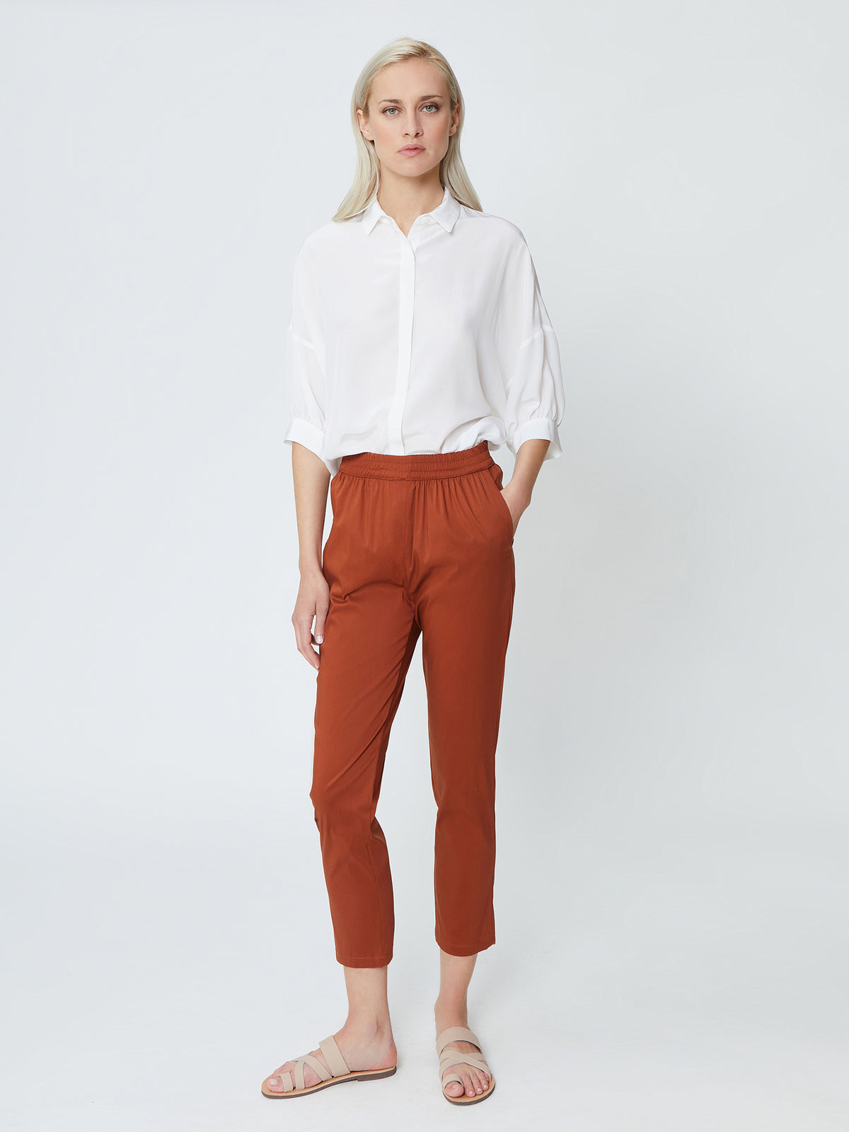 Che Pants - Terracotta