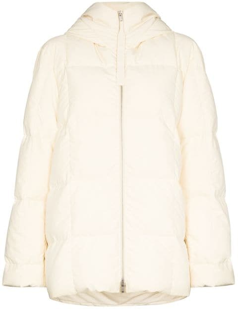 Jil Sander - Short Medium Fill Down Jacket | Vanilla