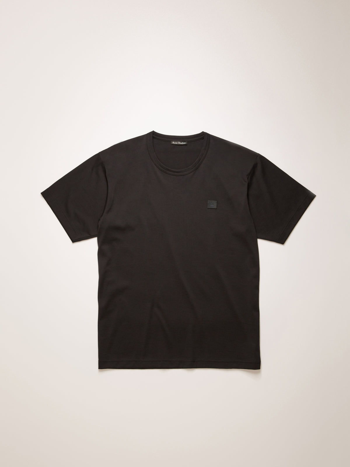 Acne Studios - Nash Face T-Shirt | Black