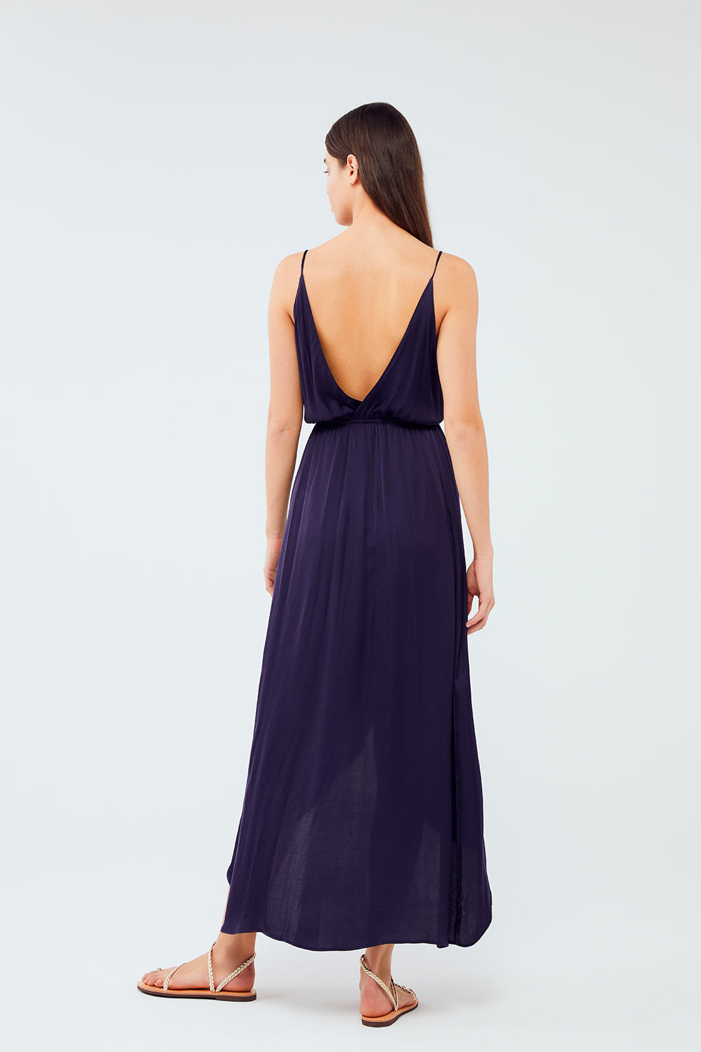 Wildwood - Orchid Dress | Navy