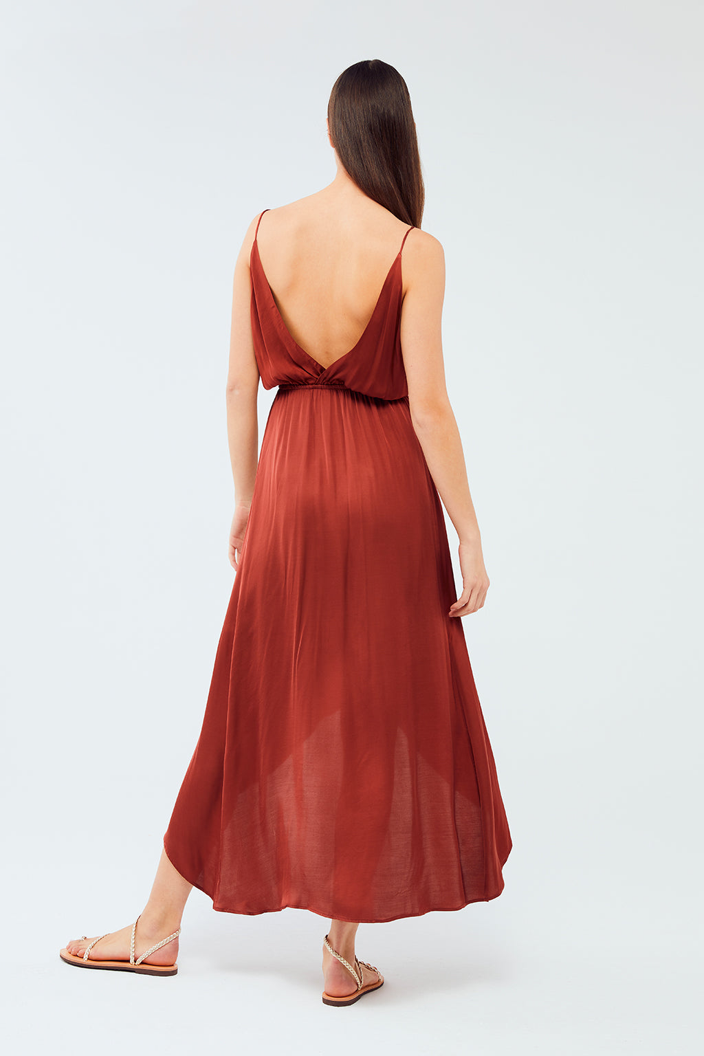 Wildwood - Orchid Dress | Wine