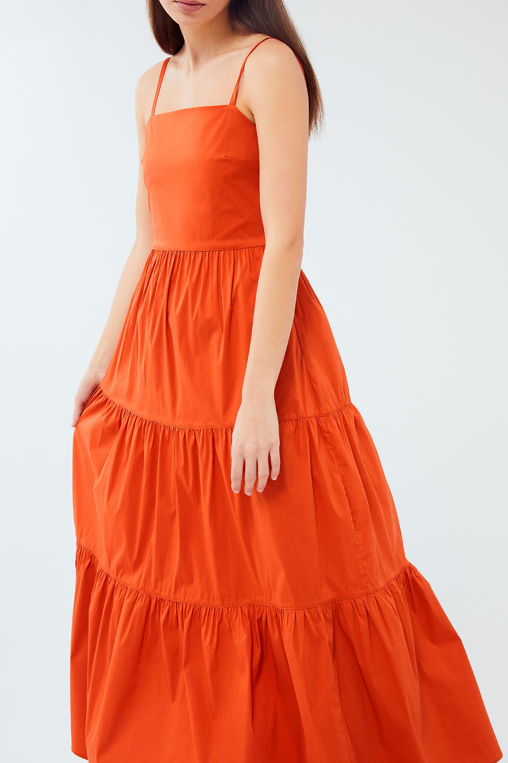 Wildwood - Riad Dress | Orange