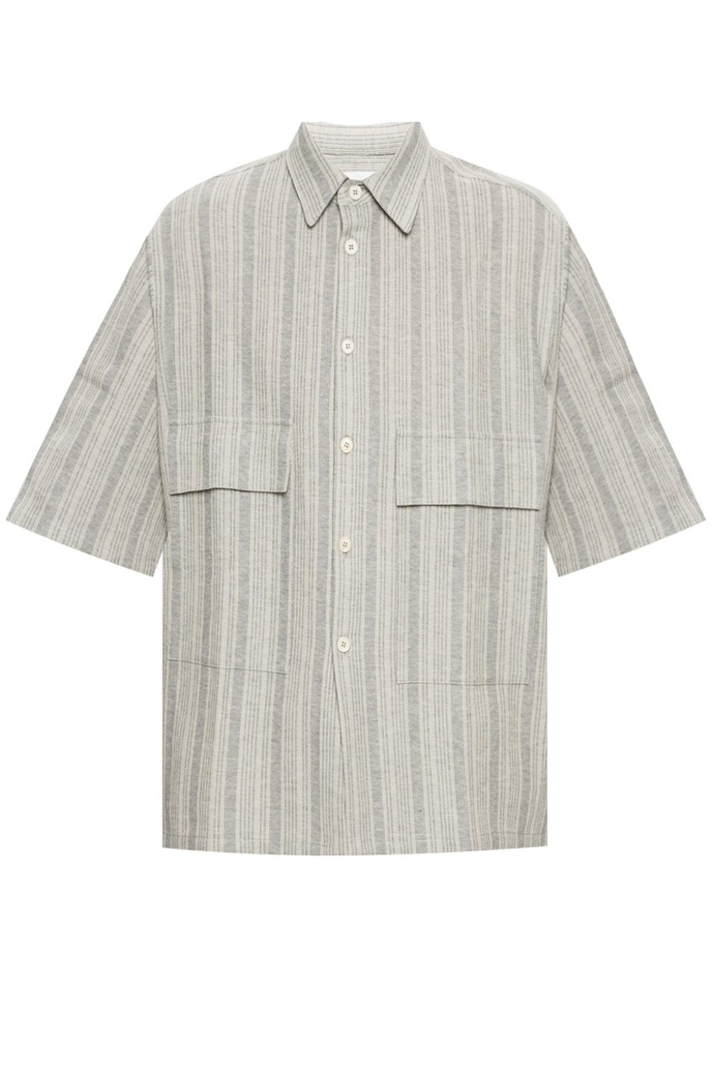 Men's Shirt SS - Open Grey